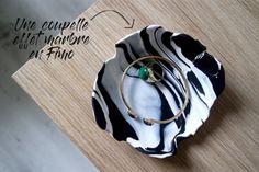 DIY tuto DIY / Un bol effet marbre en pate Fimo