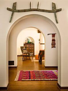 Decoração de uma casa de estilo mediterrâneo. BricoDecoracao.com