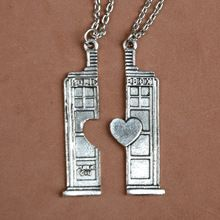 Doctor who double heart couple necklace europe and America popular personality Necklaces (Mainland)) Couple Necklaces, Couple Jewelry, Buying Wholesale, Doctor Who, Nerdy, Personality, Europe, America, China