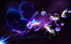 Purple Abstract Wallpafffper HD