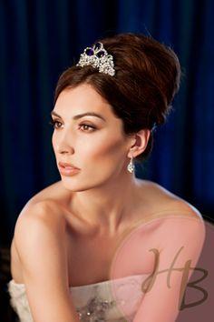 Purple Velvet Haute Bride Tiara