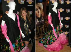 Jenni Rivera donated one of her dresses to the Hard Rock Cafe