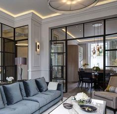 [New] The Best Home Decor (with Pictures) These are the 10 best home decor today. According to home decor experts, the 10 all-time best home decor. Glass Room Divider, Living Room Divider, Interior Design Living Room, Living Room Designs, Living Room Decor, Living Spaces, Room Dividers, Living Room Ideas 2019, Classic Interior