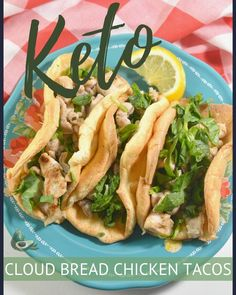 These Keto Chicken Tacos with Low Carb Wraps are a simple meal that the whole family will love! Chicken Tacos, Keto Chicken, How To Cook Chicken, Awesome Food, Good Food, Low Carb Wraps, Taco Ingredients, Low Carb Tortillas, Soften Cream Cheese