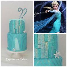 Frozen Cake, Elsa's Dress