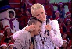 JOTTA A no programa TV Xuxa na Globo