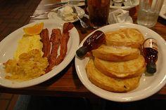 Cracker Barrel breakfast