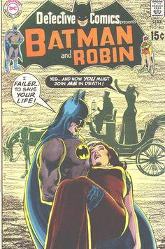 Neal Adams ghost cover for Batman