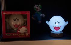 Boo! lamp http://todokawaii.com/lampara-fantasma-super-mario-bros/