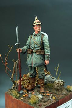 Daily Dose 03mar2014 from Michigan Toy Soldier @ www.michtoy.com 90mm WWI German by Andrea Miniatures