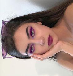 Oli Oliwia Baddie Makeup oliw Eyeshadow Looks Baddie eyemakeup KoreanMakeupEyeshadow MAKEUP Oli oliw Oliwia oliwiasierotnik Cute Makeup, Pretty Makeup, Makeup Looks, Makeup Style, Purple Makeup, Makeup Trends, Makeup Inspo, Makeup Inspiration, Beauty Trends