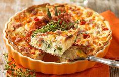Recept paj med bacon och ost