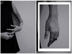 "jewelry by SAVVY hands by Coco Mayaki tatttos by Artem Sherstobitov photo: ""I don't want realism. I want magic!"""