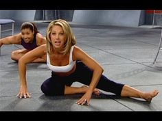Denise Austin: Legs & Buns Workout Level 2 - YouTube
