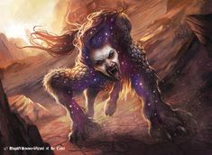 Thoughtrender Lamia - MtG Art