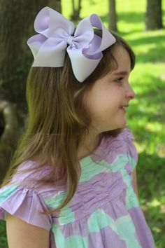 "Pick 5 - Jumbo Hair Bows -- 2.25"" Ribbon - Choose Colors - Birthday Party / Weddings / Photo Prop / Spring Easter BIG"