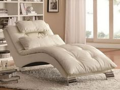 Double Wide Chaise Lounge Indoor With 2 Cushions   Chaise lounge ...