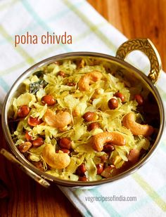 poha chivda recipe with step by step photos. a maharashtrian style quick snack made from thin poha (flattened rice), dry fruits, peanuts, and spices. this version of poha chivda is made mostly during diwali festival as a savory snack.