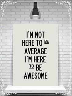 Don´t forget to be #AWESOME :) #BrillianceOnDemand