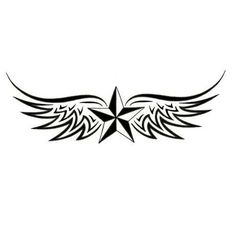 star with wings | nautical-star-with-wings-star-tattoo-design-2.jpg