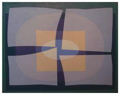 Emilio Pettoruti - Harmony in Space, 1961, oil on canvas