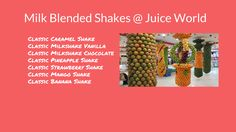 Know more about #JuiceWorld's #Milk Blended #Shakes here: http://juiceworld.com.sa/  #jeddah #juice #juices #HealthyEating #HealthyFood #food