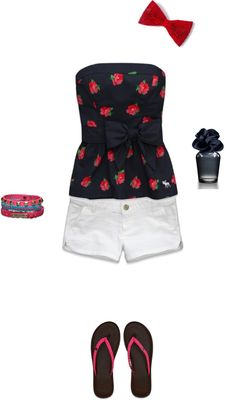 """""""HCO, A, Gilly Hicks outfit"""" by michaelab113 on Polyvore"""