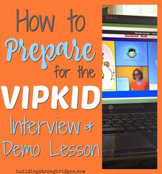 Thinking about applying or how to apply to teach / tutor with VIPKID?  Get advice and help with tips and techniques for the interview, mock class, and demo lesson here! How to apply, teach, and get hired with VIPKID online ESL teaching via telecommute, virtual classroom, and work from home job for teachers. Part time or full time, flexible hours, set your own schedule based on your students in China.