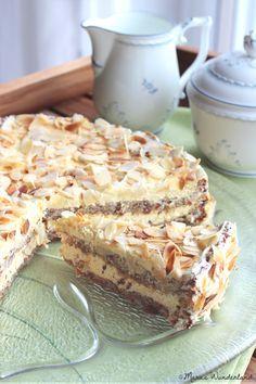 coconut almond torte