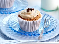 Espresso cupcakes, sugar recipe, brought to you by Woman's Day