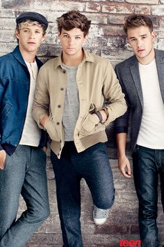 Niall Horan, louis tomlinson, and liam payne