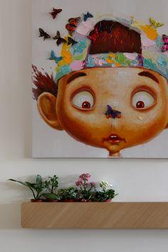 An Apartment in Taiwan Showcasing Toys & Travel Souvenirs Photo