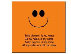 Sally Square - tune of London Bridge