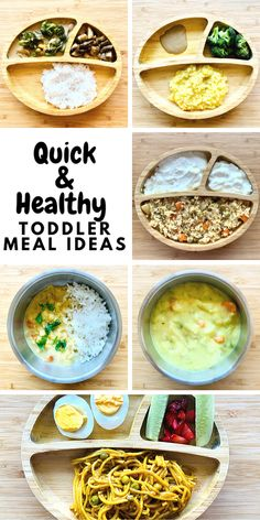 Easy and Healthy toddler meals for 1 year olds and 2 year olds. Caters to picky eaters, vegetarians, vegans and includes creative new recipes to get yur toddler to eat. Easy Toddler Snacks, Picky Toddler Meals, Toddler Lunches, Kids Meals, Easy Meals, Toddler Dinners, Toddler Food, Toddler Recipes, Baby Food Recipes