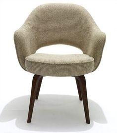Knoll ® Saarinen Executive Armchair with Wood Leg