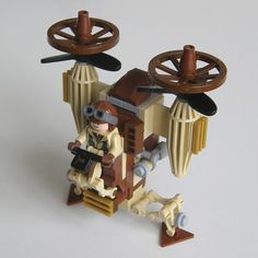 Steampunk Flyer (Top front view) | Flickr - Photo Sharing!