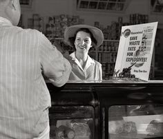 Shorpy Historical Photo Archive :: Bombs and Butter: 1942