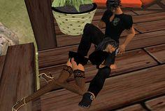 Kuscheln 2.0 - für viele unserer Einwohner wurde das Apfelland in Second Life zur echten zweiten Welt mit realen Beziehungen.