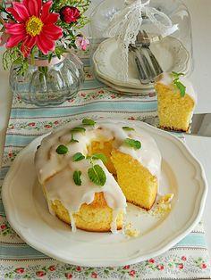 Dr Ola's kitchen: German Pound Cake ( Sand Cake ) . Zitronen Sandkuchen . الباوند كيك الألماني