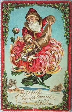 http://wordplay.hubpages.com/hub/vintage-christmas-cards-floral