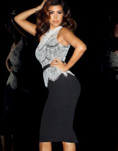 Kardashian Lace Top Peplum Dress #LoveTheNewCollection #LipsyLondon