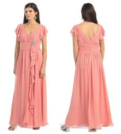green peach gold mother of the bride dresses   ... .stylishtrendy.com/dont-forget-mom-mother-of-the-bride-dresses-2014