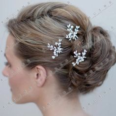 Freshwater pearl hair stick hairpin fashion bride hair accessory hair accessory japanese style hairpin u clip the bride comb(China (Mainland...