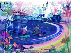 Jill Calder creates beautiful images aimed at children for advertising, design, editorial, public sector and museum sector clients. Photo Illustration, Botanical Illustration, Pretty Pictures, Beautiful Images, Illustrators, Art Projects, Art Prints, Drawings, Artwork