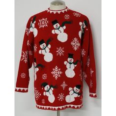 ugly christmas sweaters   ... Gallery: Vintage 1980s Ugliest Christmas Sweater by Adele Knitwear