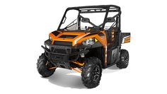 The all new Polaris Ranger 900 XP in Orange Madness-