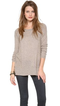 9b611fa5 Bop Basics The Ascender Cashmere Pullover from Shopbop Chic Outfits,  Fashion Outfits, Womens Fashion