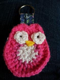 Owl crochet keyring :-)
