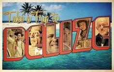 """""""I'll Send U To Belize"""" -  Breaking Bad poster"""