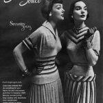 Sans Souci 1953 / Ivy Nicholson (L) Sherry Nelms (R)